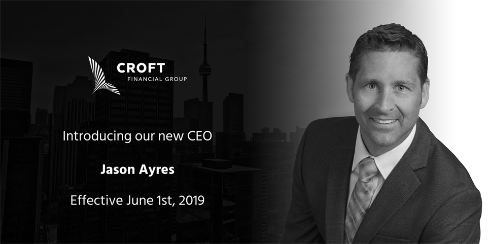 Jason Ayres appointed to CEO of Croft Financial Group