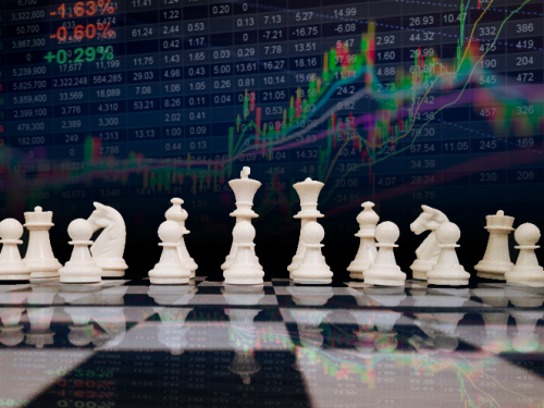 chess with stock market