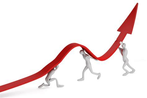 clipart photo generic red line graph