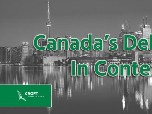 canada's debt in context