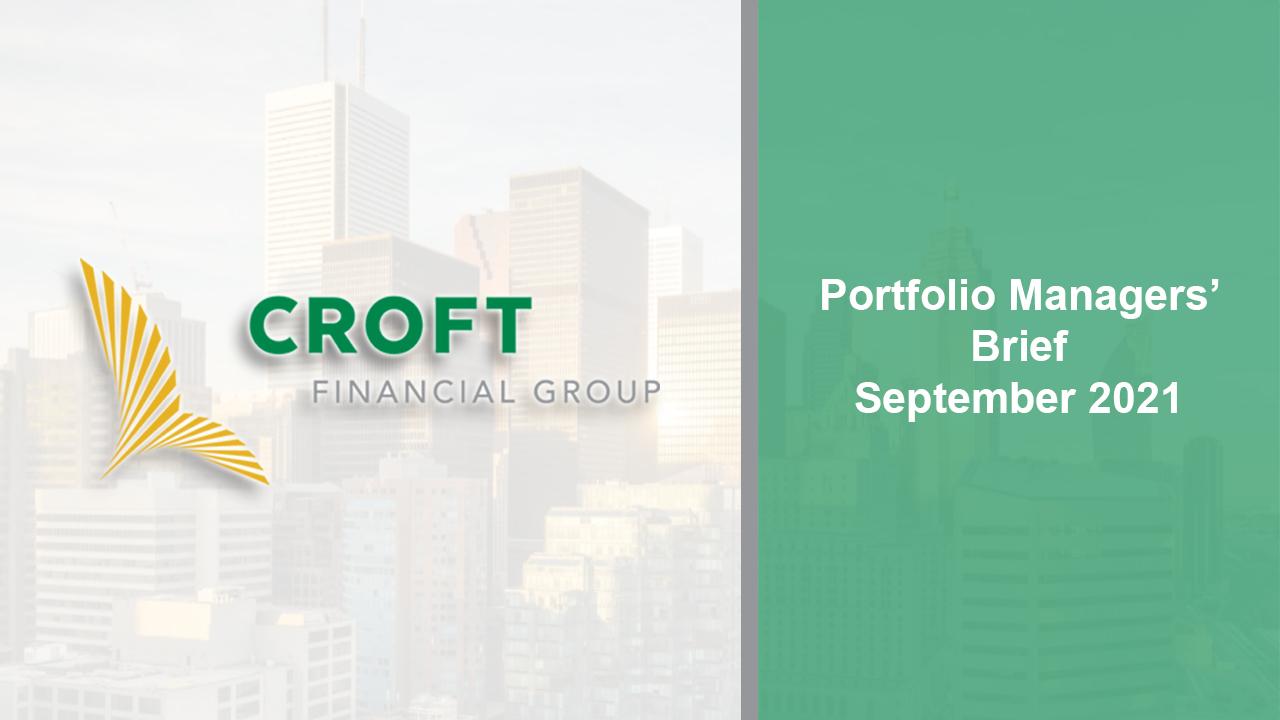 Portfolio Managers Brief -- September 2021